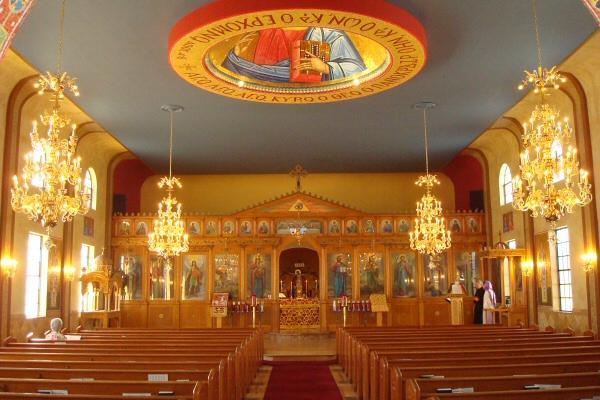 Live Stream Church Interior Saint George