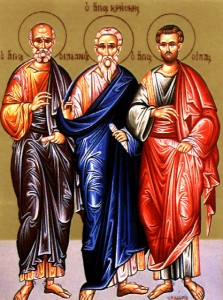 Apostles Silas, Silvanos, Apainetos and Crescens of the Seventy