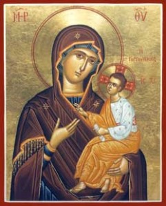 Theotokos with Christ