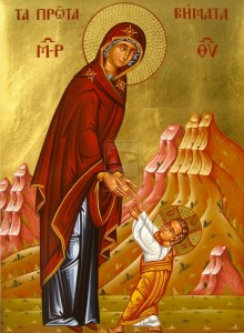 Theotokos with child