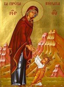 Theotokos with child