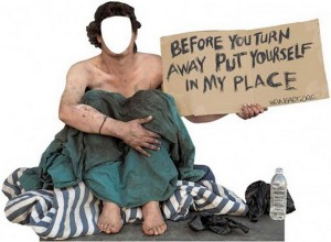 faceless homeless