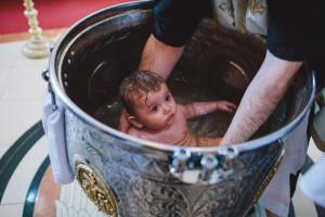 baptize child