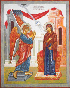 The Feast Of Annunciation Begins Tonight!